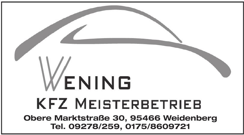 Wenig Kfz-Meisterbetrieb