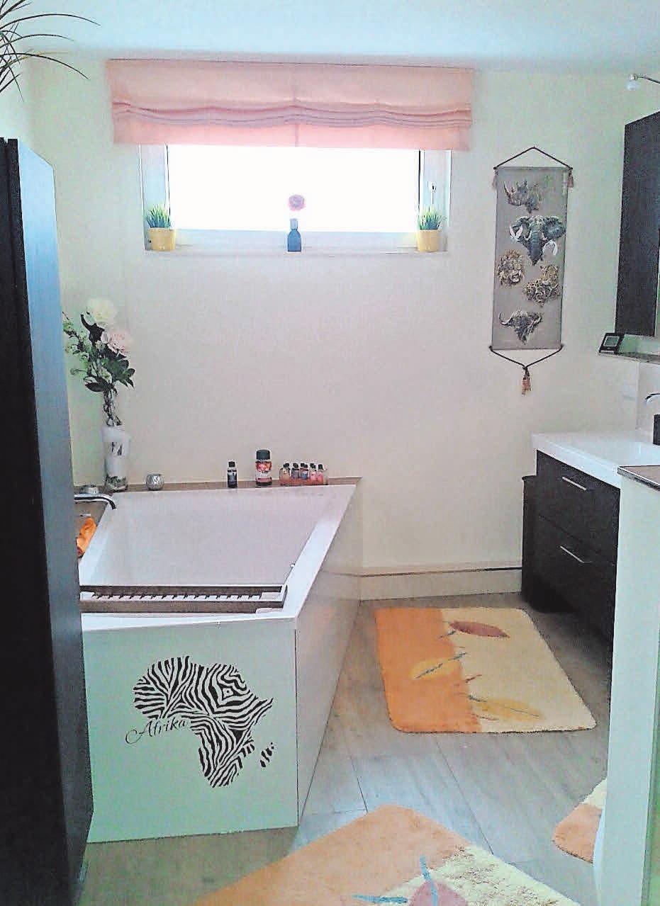 Mit dem kompetenten Team von Bad & Wärme wird aus dem Siebzigerjahre-Badezimmer eine freundliche Wohlfühloase.