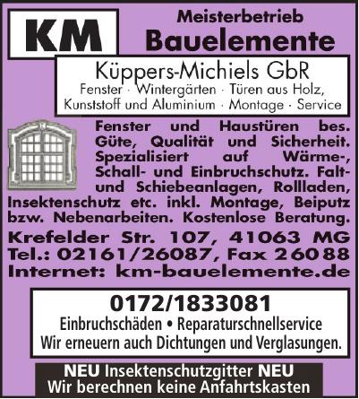 KM Bauelemente Küppers-Michiels GbR