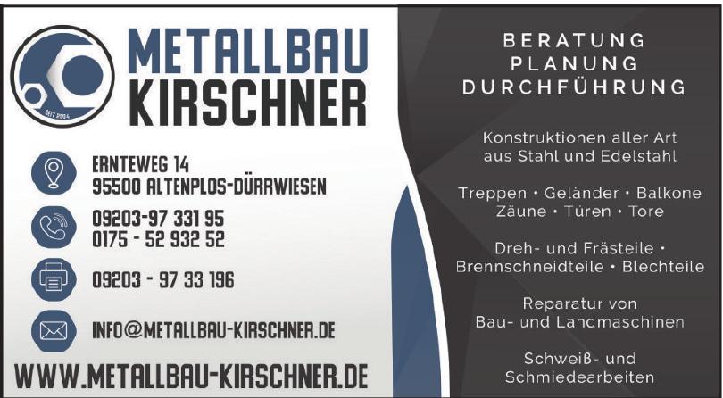 Metallbau Kirschner
