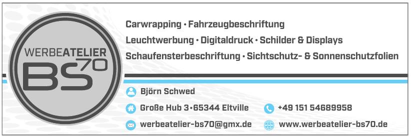 Werbeatelier BS70