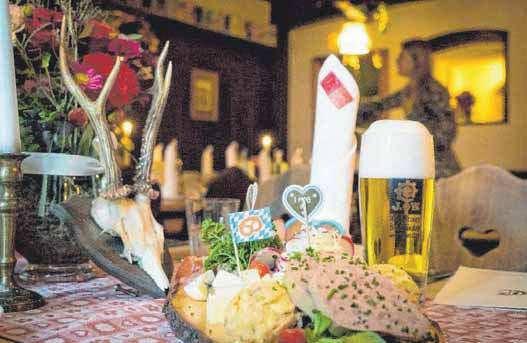 Im Hotel Engel werden frische, bayerische Gerichte serviert