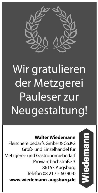 WalterWiedemann Fleischereibedarfs GmbH & Co.KG