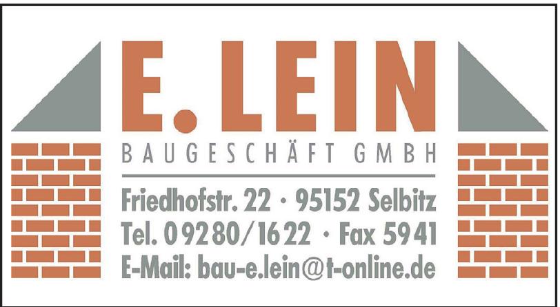 E. Lein Baugeschäft GmbH