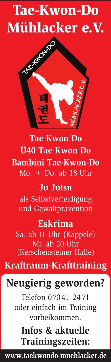 Taekwondo Mühlacker e. V.