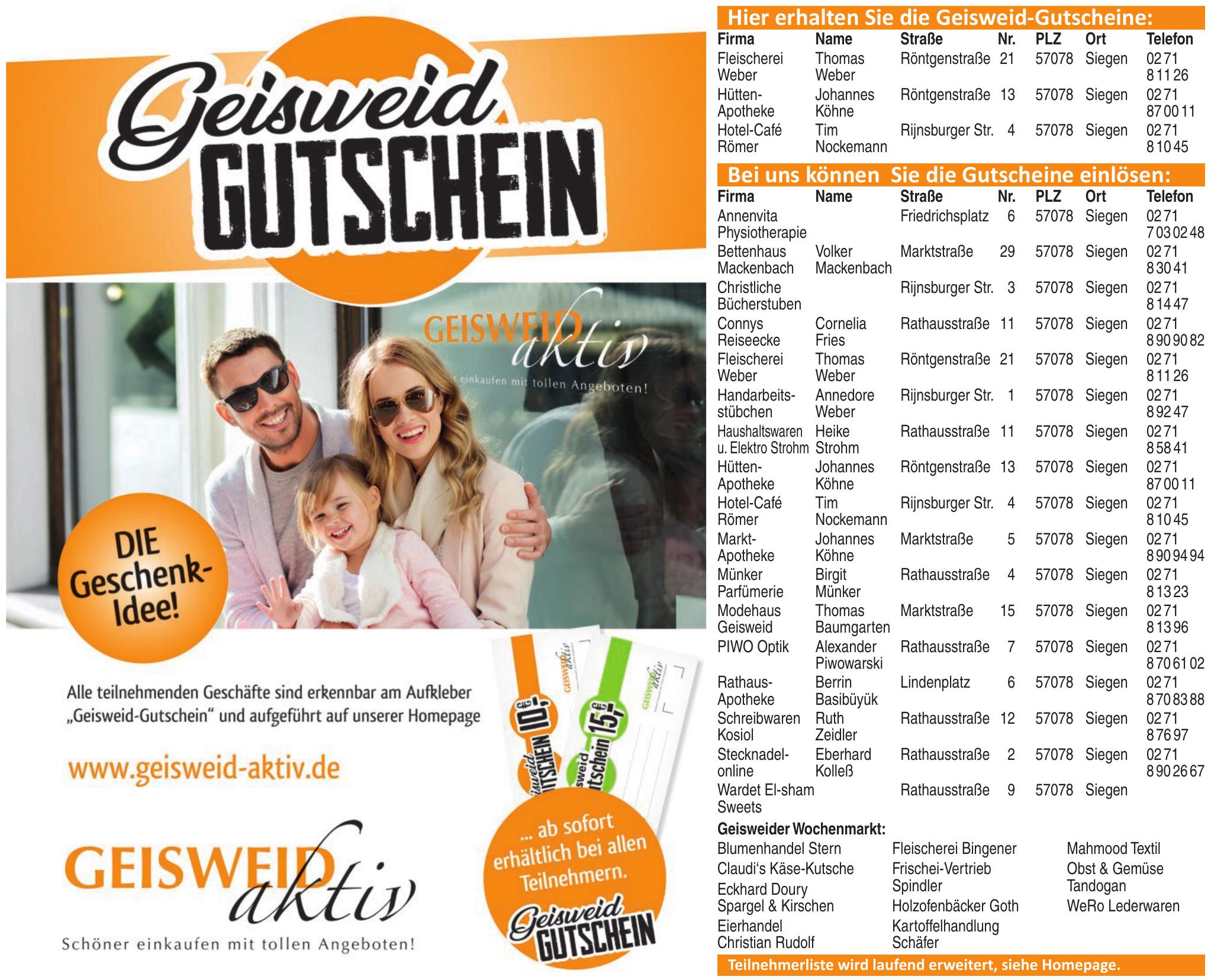 Geisweid Aktiv