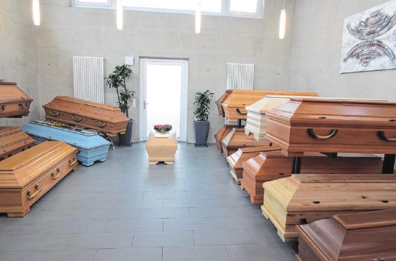 Hell und modern gestaltet, bietet er Platz für Beratungs- und Ausstellungsräume. Fotos: privat