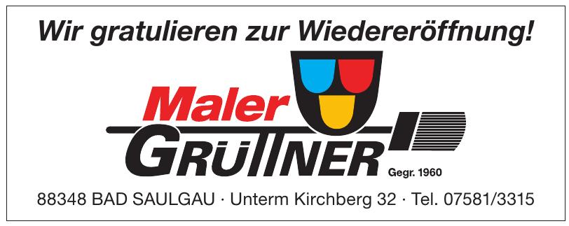 Maler Grüttner