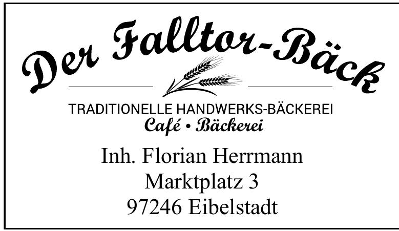 Der Falltor-Bäck Café, Bäckerei