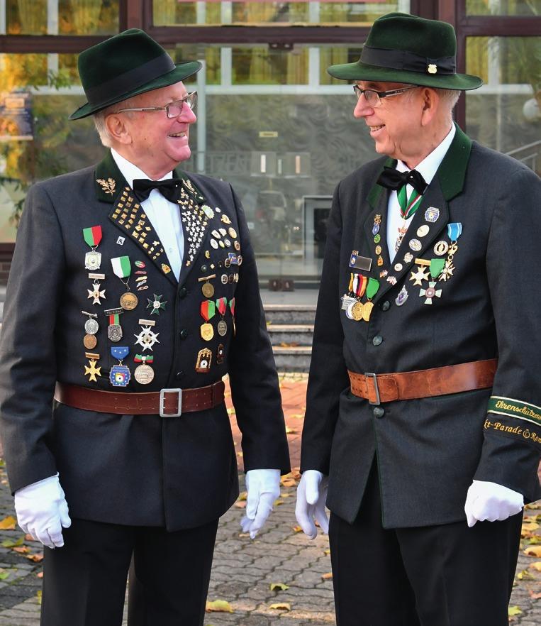 Rauls und Gohla – über 160 Jahre Lebenserfahrung und 100 Jahre Gilde-Wissen!