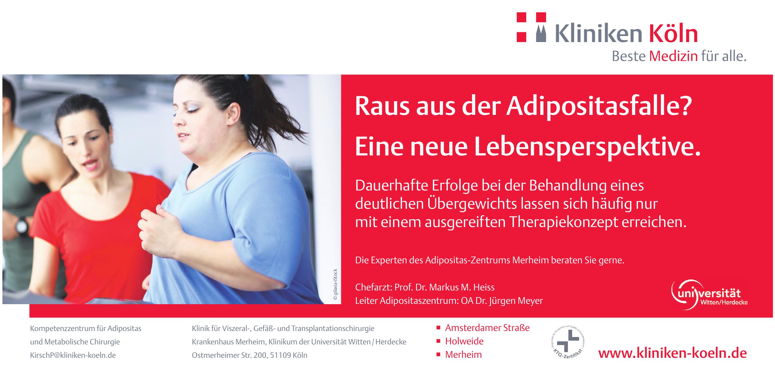 Kompetenzzentrum für Adipositas und Metabolische Chirurgie