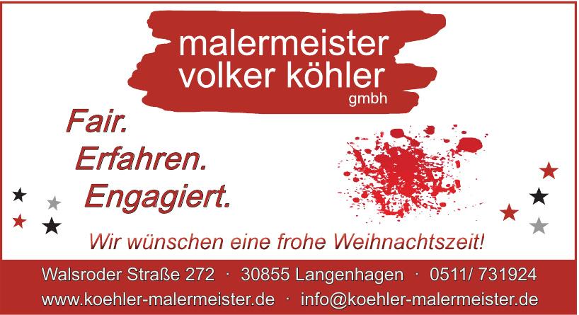 malermeister volker köhler GmbH