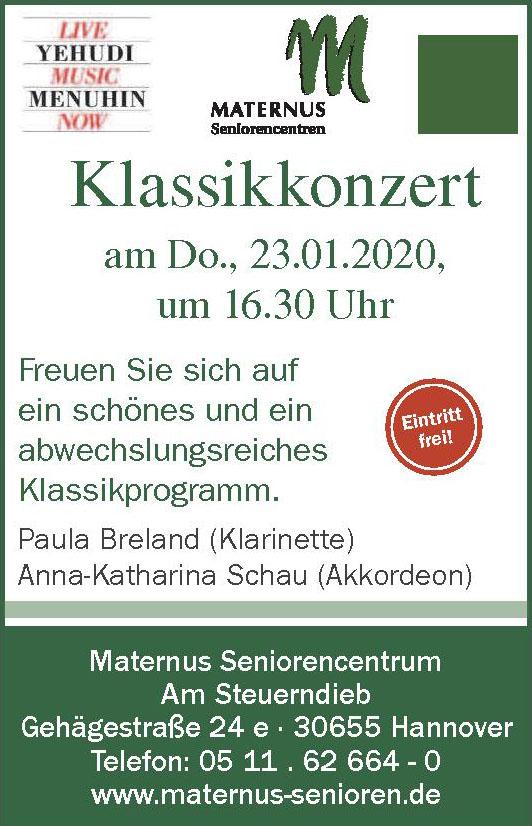 Maternus Seniorencentrum Am Steuerndieb