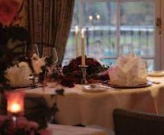 Die Orangerie lädt zu lauschigen Candlelight-Dinners ein