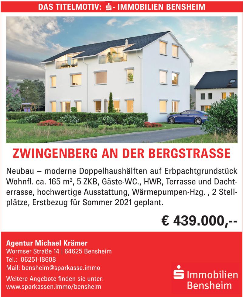 Sparkasse Immobilien Bensheim - Agentur Michael Krämer