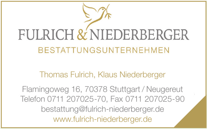 Fulrich & Niederberger Bestattungen