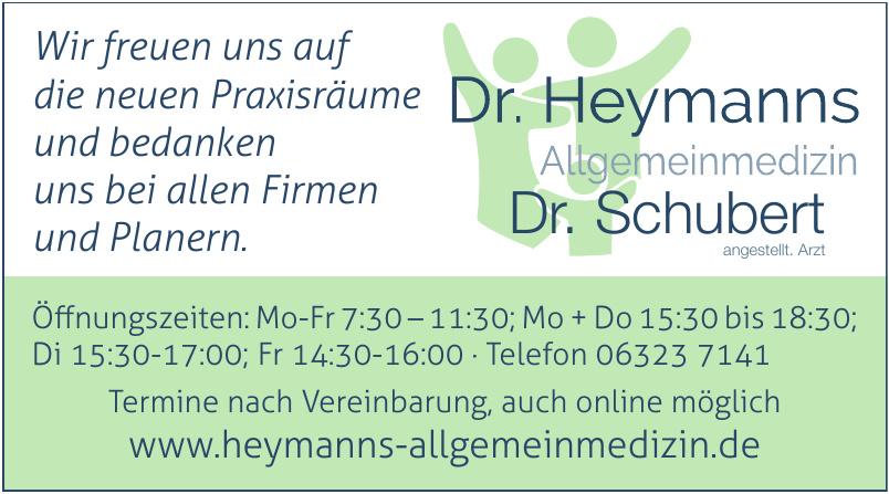 Dr. med. Michael Heymanns  Facharzt für Allgemeinmedizin