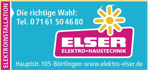Elser Elektro-Haustechnik
