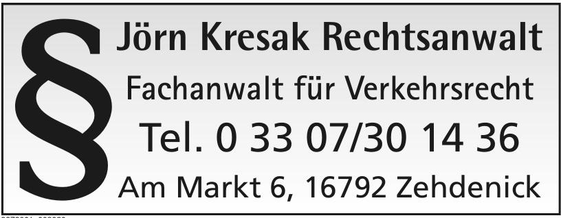 Jörn Kresak Rechtsanwalt