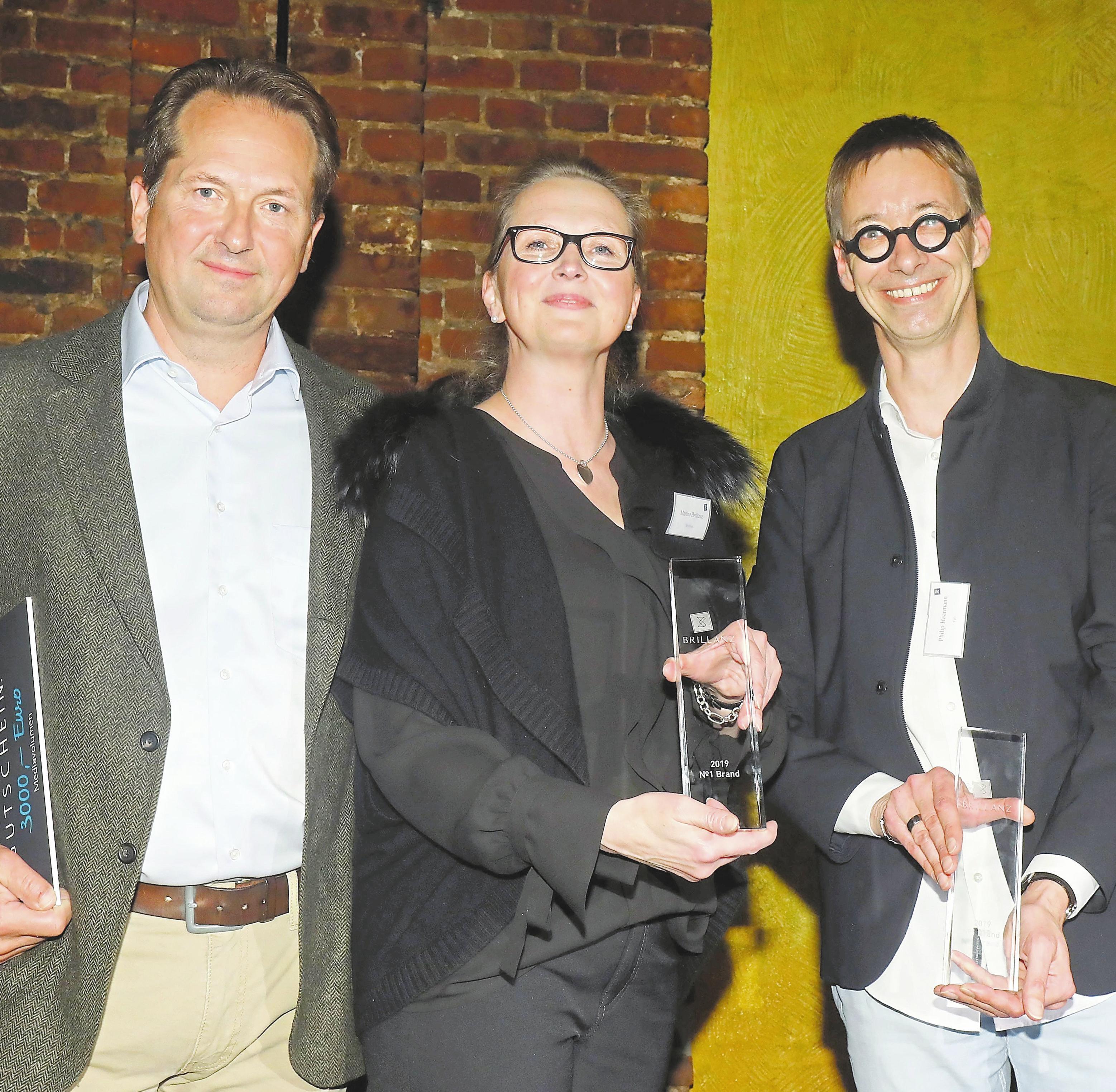 Zwei Priese gab es für die Agentur Freundeskreis mit dem Kunden Leusbrock Pflege GmbH (Foto oben) sowie Elektro Heikes (unten). Matthias Ahlke