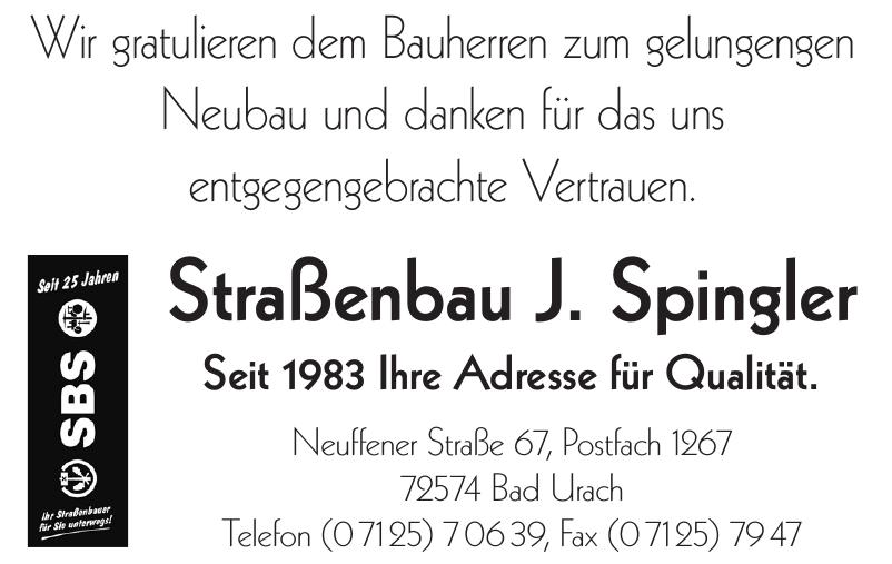 Straßenbau J. Spingler