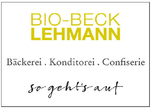 Bio-Beck Lehmannn Bäckerei, Konditorei, Confiserie