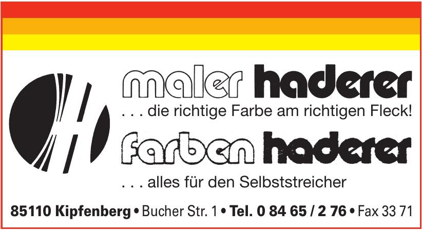 Maler Haderer