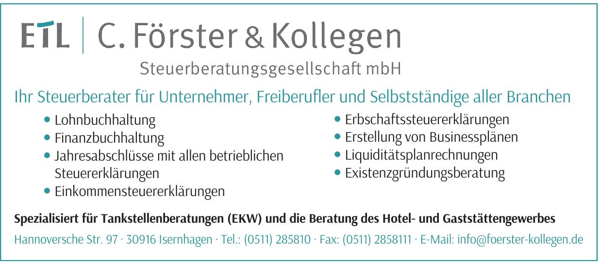 C. Förster & Kollegen Steuerberatungsgesellschaft mbH