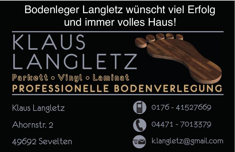 Klaus Langletz