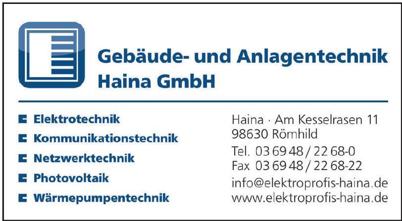 Gebäude- und Anlagentechnik Haina GmbH