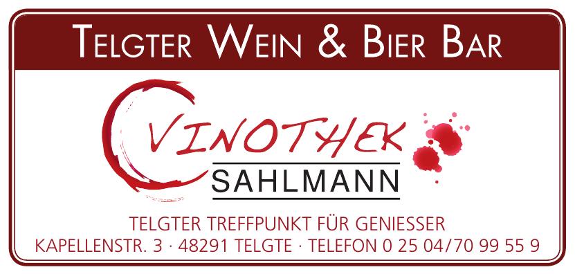 Vinothek Sahlmann