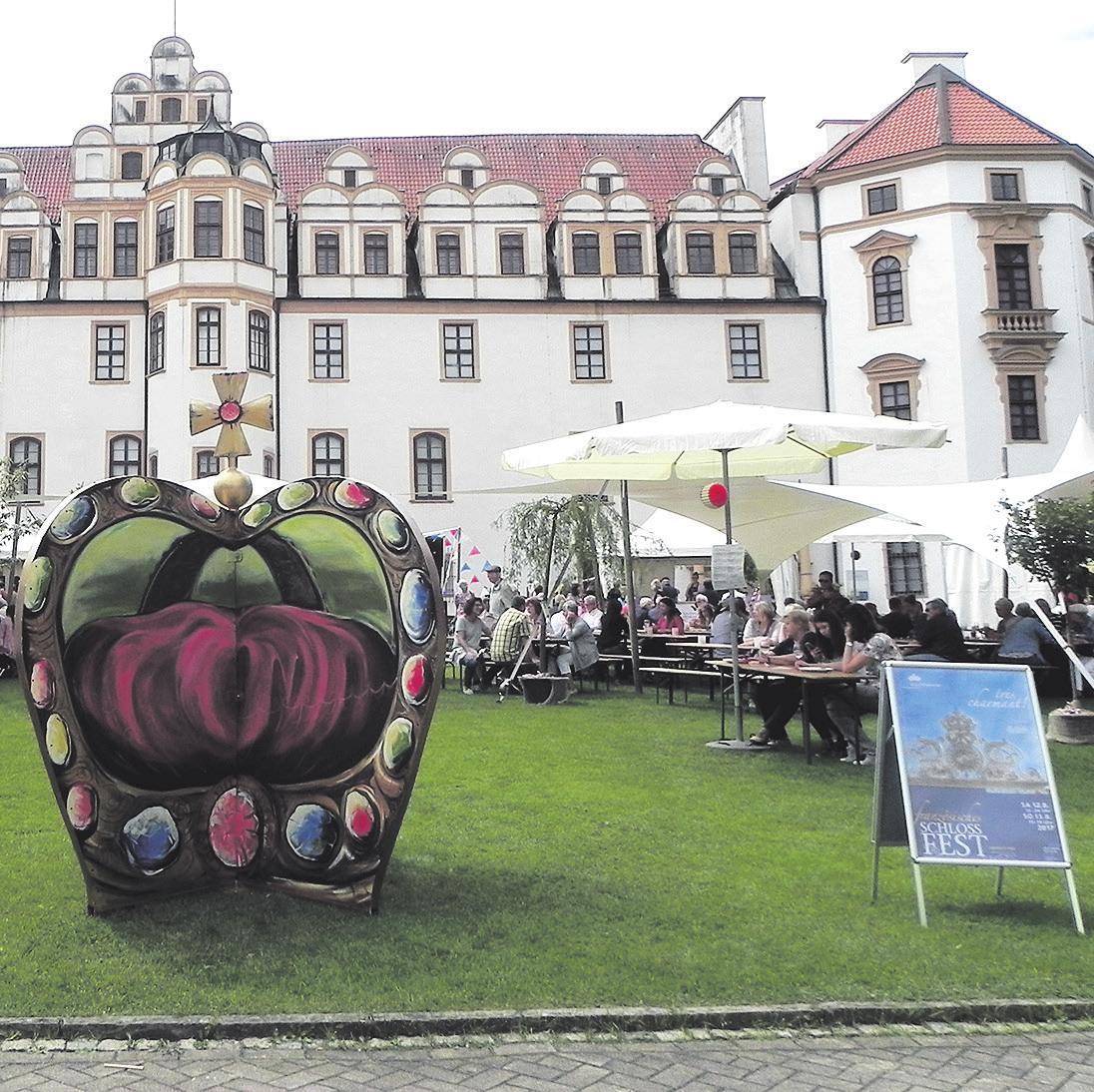 Das Schlossfest in Celle hat an diesem Wochenende so einiges zu bieten. Foto: privat