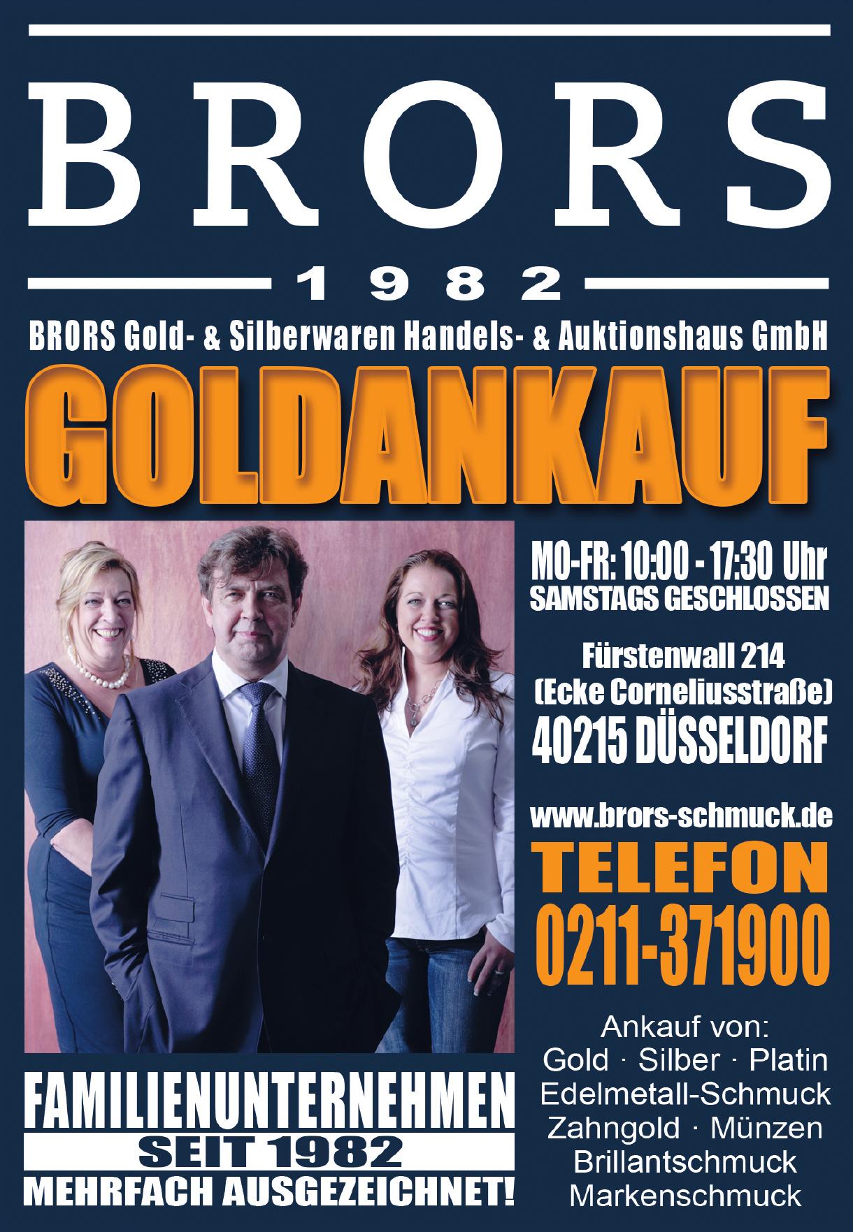 Brors Gold- & Silberwaren Handels- & Auktionshaus GmbH