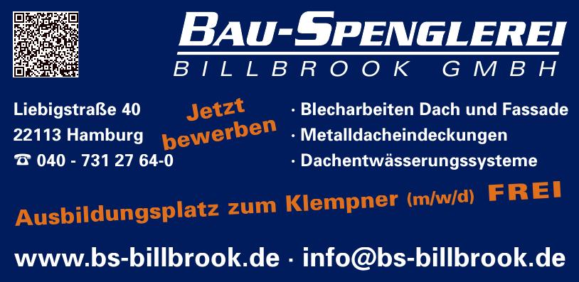 Bau-Spenglerei Billbrook GmbH
