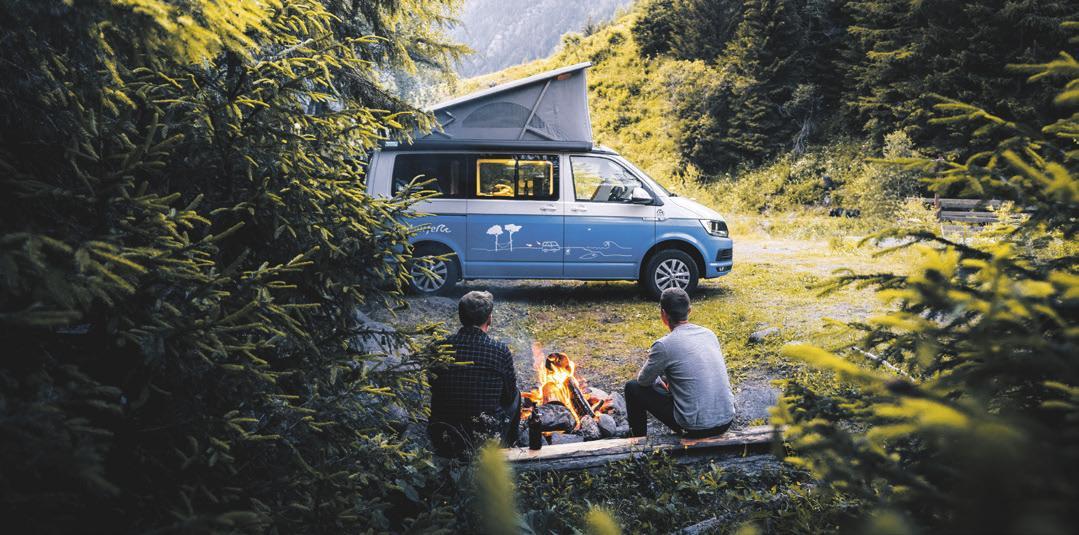 Campingurlaub ganz individuell. Foto: roadsurfer