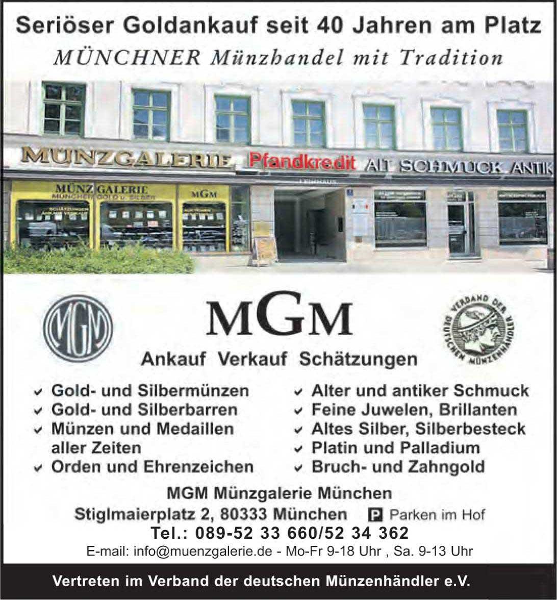 MGM Münzgalerie München