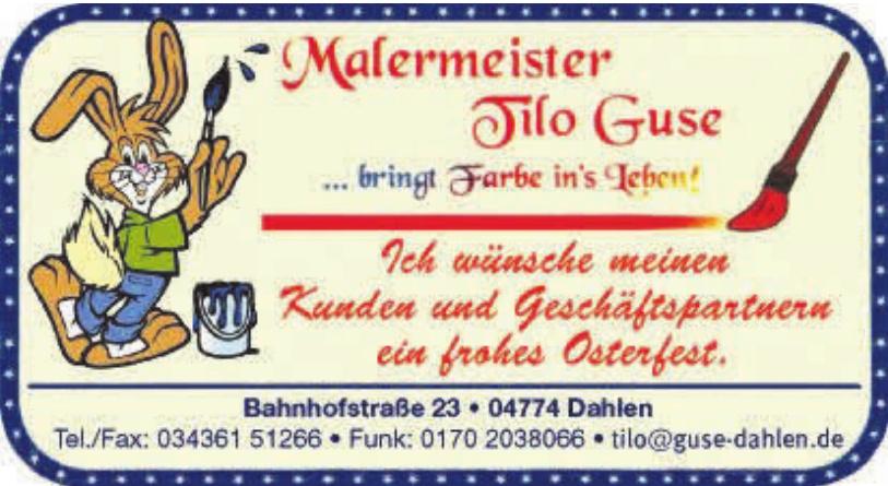 Malermeister Tilo Guse