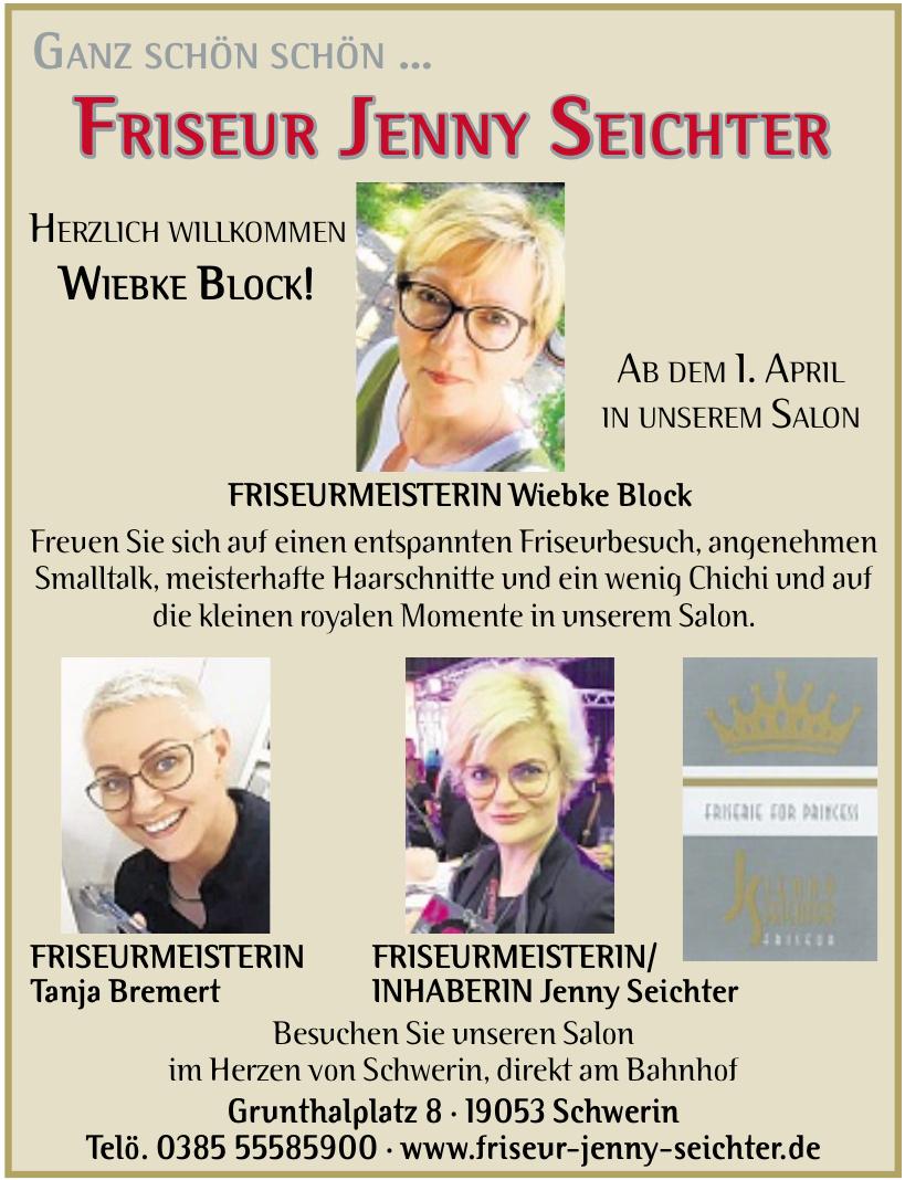 Friseur Jenny Seichter