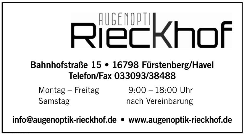 Augenoptik Rieckhof