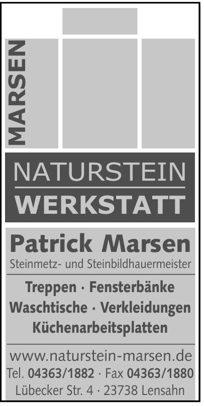 Naturstein Werkstatt Patrick Marsen