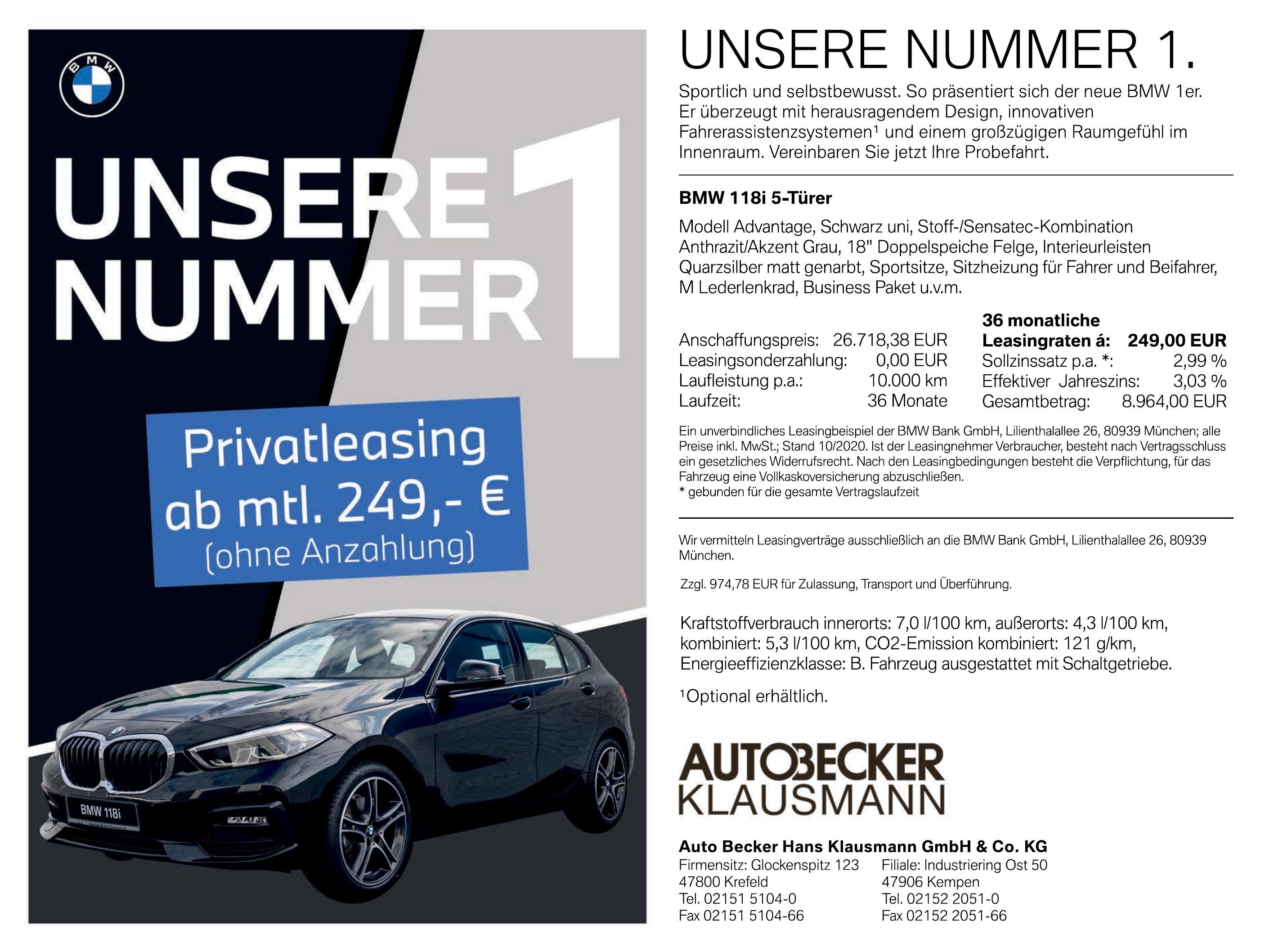 Auto Becker Hans Klausmann GmbH & Co. KG