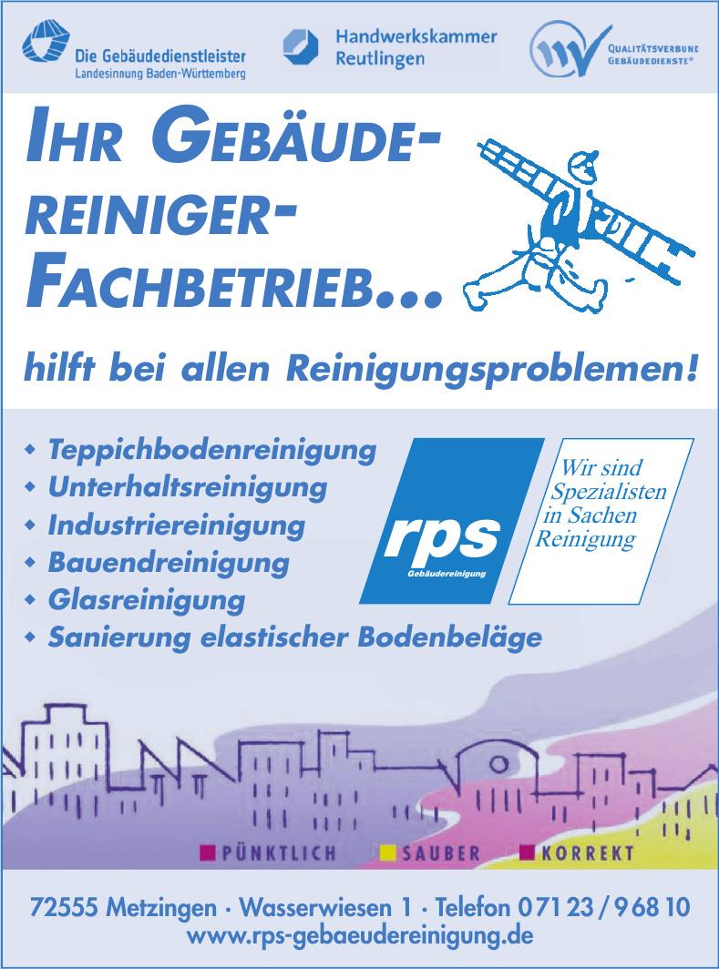 rps GmbH Gebäudereinigung