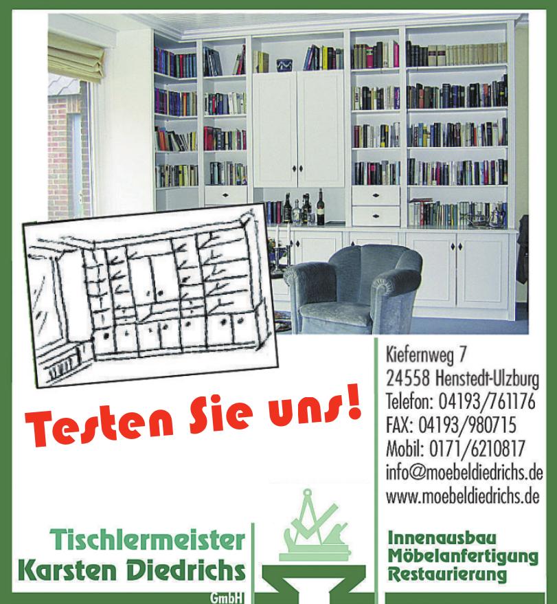 Tischlermeister Karsten Diedrichs GmbH