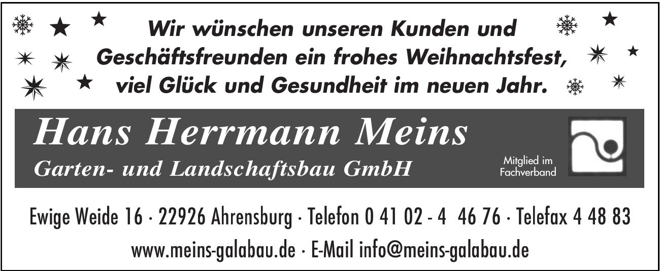 Hans Herrmann Meins Garten- und Landschaftsbau GmbH