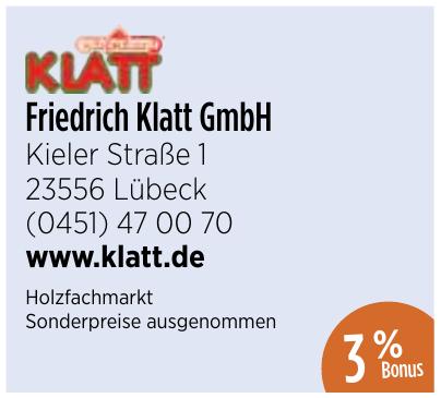 Friedrich Klatt GmbH