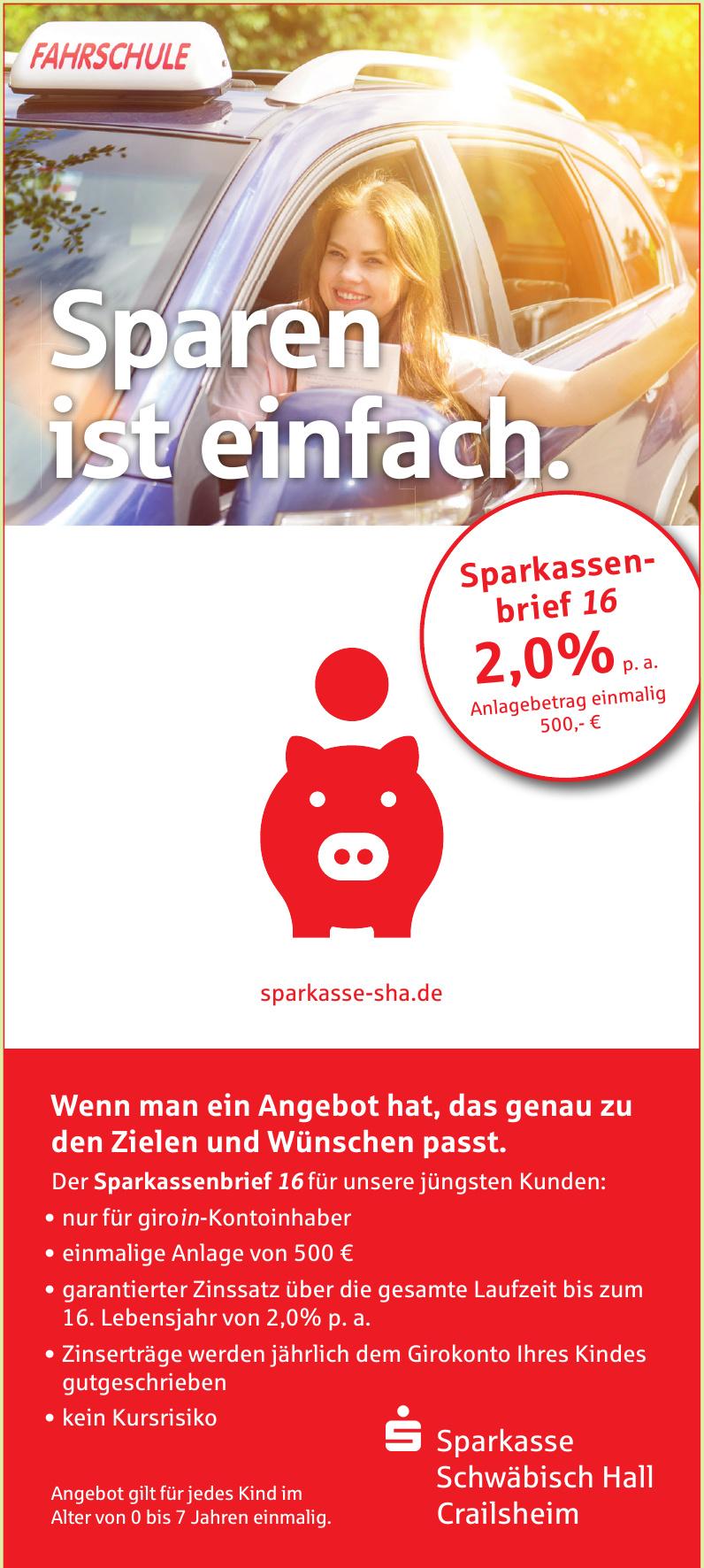 Sparkasse Schwäbisch Hall Crailsheim