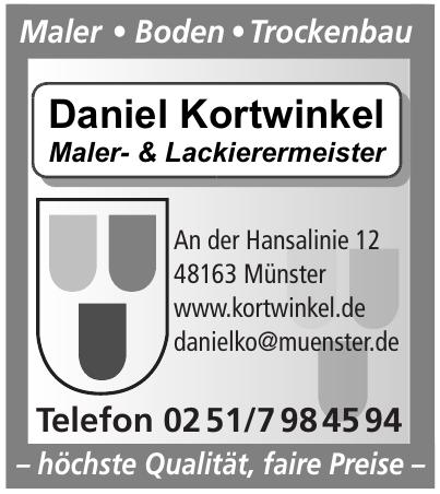 Daniel Kortwinkel Maler- und Lackierermeister