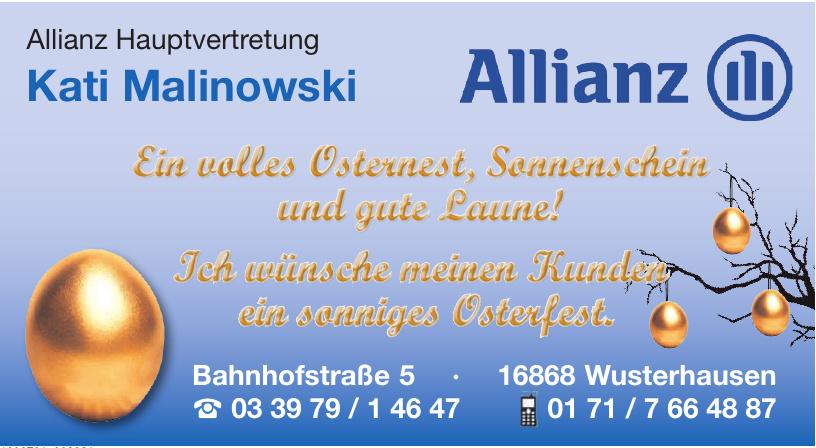 Allianz Hauptvertretung Kati Malinowski