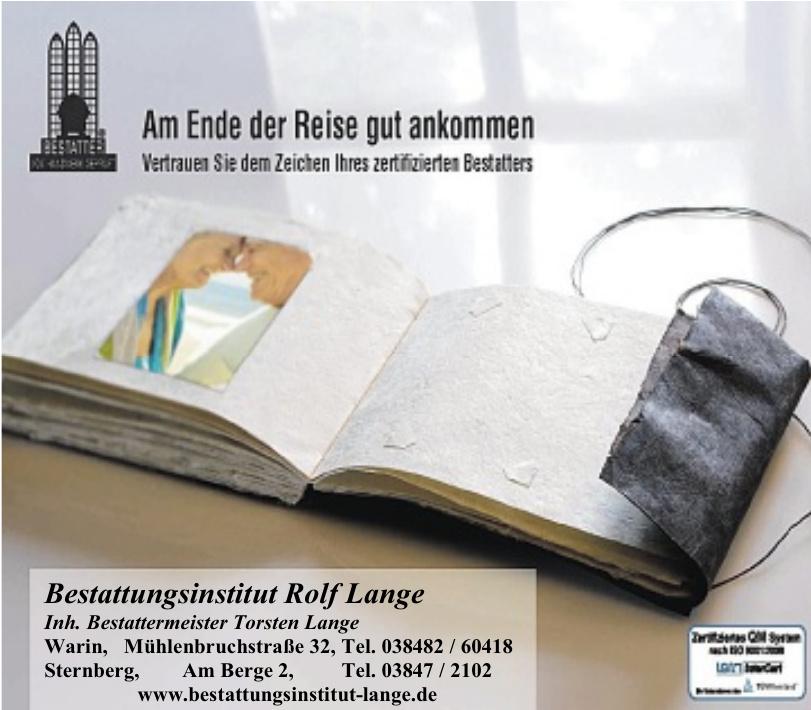 Bestattungsinstitut Rolf Lange