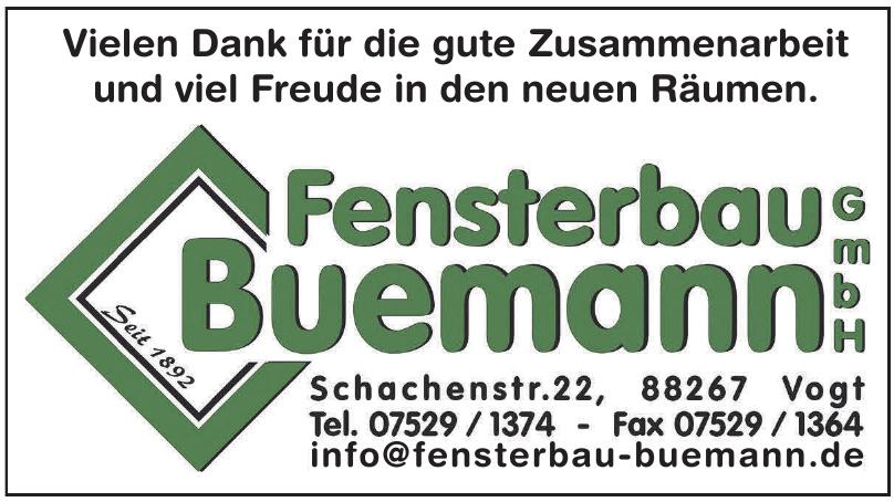 Fensterbau Buemann GmbH